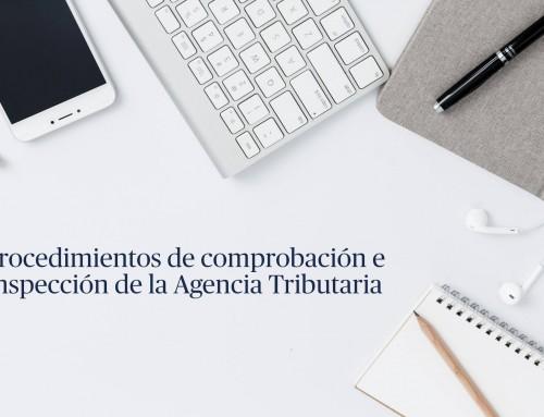 Los procedimientos de comprobación e inspección