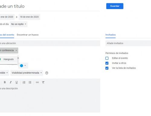 Google Calendar, usos y beneficios para nuestra empresa (3):  10 usos que tal vez no conozcas y te pueden resultar útiles