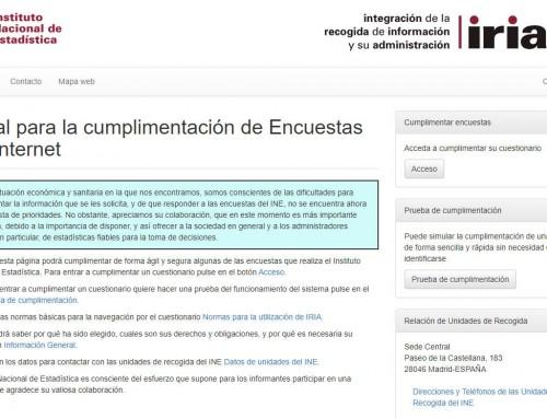 La obligatoriedad de cumplimentar las encuestas del INE por parte de las empresas